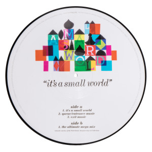 It's A Small World Picture Disc