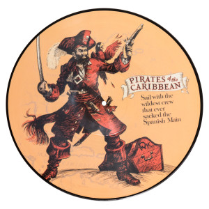 Pirates of the Caribbean Picture Disc