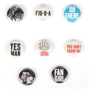 Ben Folds Button Pack