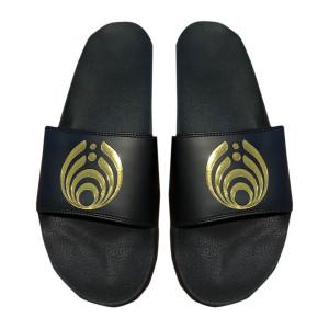 Black/Gold Slides