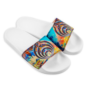 Tie Dye Slides
