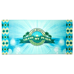 2015 Crash My Playa Beach Towel