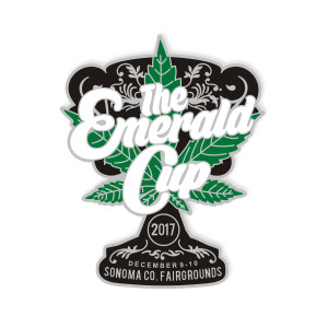 Emerald Cup Hat Pin