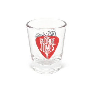 George Jones Shot Glass
