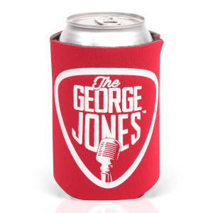 George Jones Red Koozies