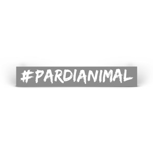 #PARDIANIMAL Static Cling