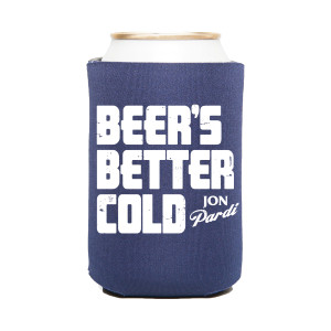 Beer's Better Cold Koozie - Blue