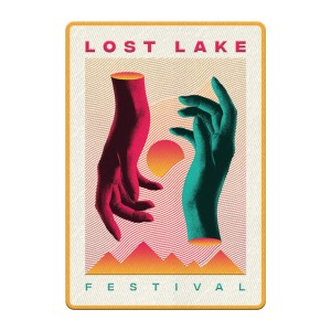 Lost Lake Hands Embroidered Patch