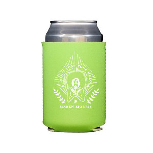 HALO Can Cooler in Lime Green