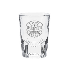 Hurtin' Shot Glass