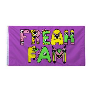 Freak Fam Flag - Purple