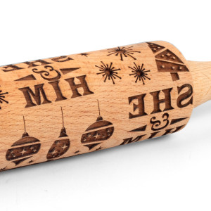 She & Him Cookie Rolling Pin