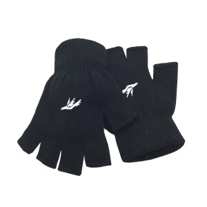 Dove Fingerless Gloves