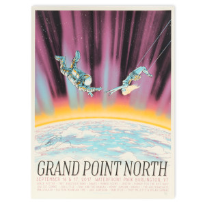 SIGNED Grand Point North 2017 Poster