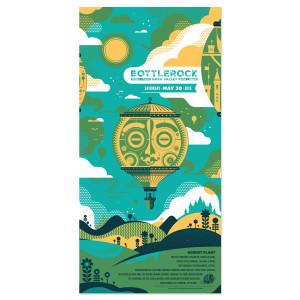 Bottle Rock 2015 Poster - Saturday