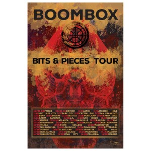 Bits & Pieces 2016 Tour Poster