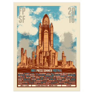 """FPSF 2016 10"""" x 24"""" Event Poster"""