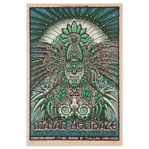 Mayan Holidaze 2012 Poster