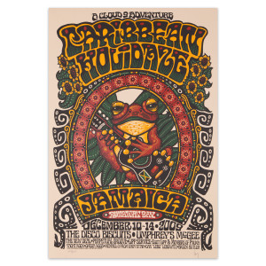 Caribbean Holidaze 2009 Poster