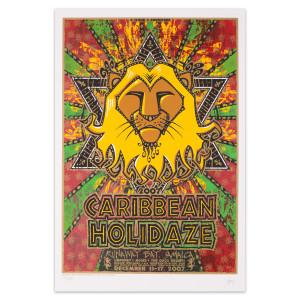 Caribbean Holidaze 2007 Poster