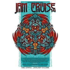 Jam Cruise 14 Poster
