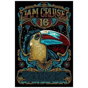 Jam Cruise 16 Toucan Poster