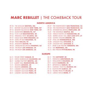 2019 Comeback Tour Poster