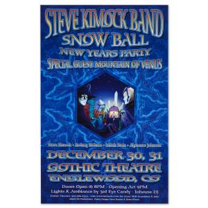 Steve Kimock Englewood, CO 12/30/02 Poster