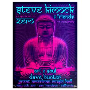 SKF/ZERO Buddha Poster