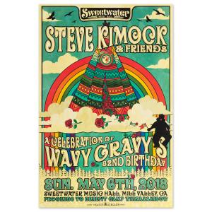 SKF - Wavy Gravy's Birthday Poster