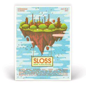 Sloss Music & Arts Festival 2017 Poster