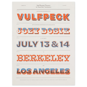 Greek Theater Los Angeles & Berkeley Exclusive Poster