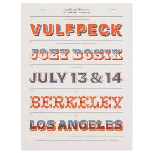 Greek Theater Los Angeles & Berkeley Exclusive Poster