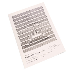 The National Cathedral 2018 Poster (signed)