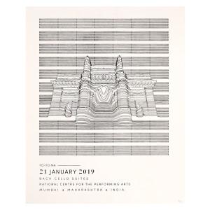 Bach Cello Suites Mumbai 2019 Poster