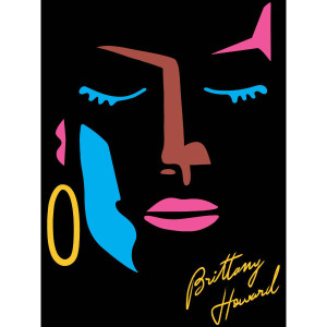 Abstract Face Sticker