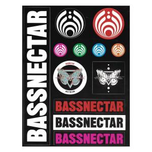 Assorted Logo Sticker Sheet
