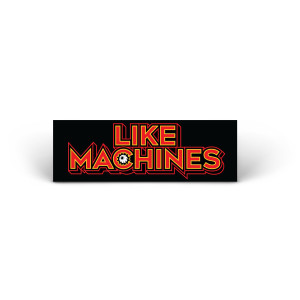 Like Machines Logo Sticker