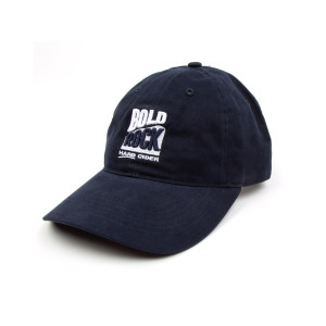 Puff Embroidered Logo Cap - Navy
