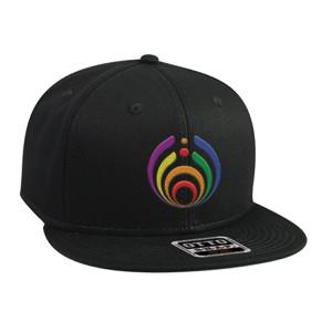 Rainbow Bass Drop Hat