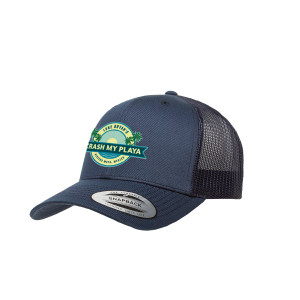2018 Crash My Playa Hat - Logo - Blue