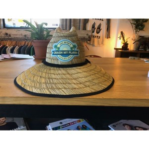 Crash My Playa 2019 Straw Hat