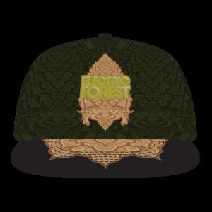 Grassroots CA Custom Black Metal Badge Hat