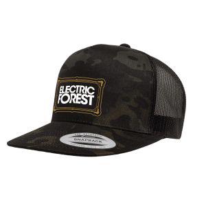 EF Frame Camo Trucker Hat