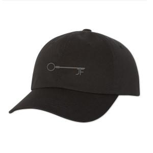 JF Key Black Dad Hat