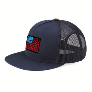 Tire Flag Trucker Hat