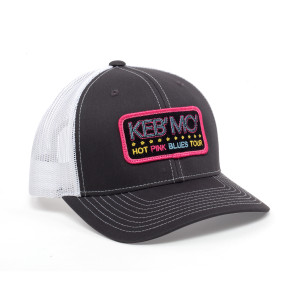 That Hot Pink Blues Hat - Black