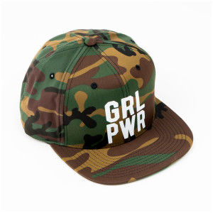 Girl Power Camo Hat
