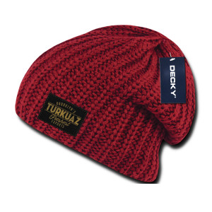 PATCH BEANIE - RED