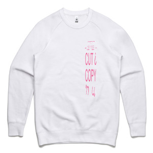 Cut Copy Haiku From Zero White Sweatshirt